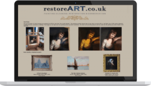 Restore Art, the website of Phil and Chris Salmon of Chard, Somerset. Fine art conservation. www.restore-art.co.uk